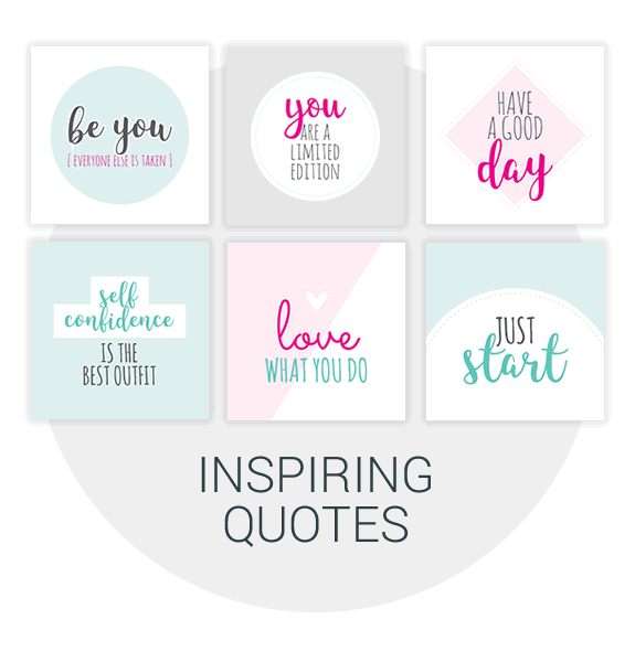 Inspiring quotes & Positive Affirmations