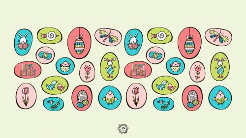 Tazi Easter Wallpaper