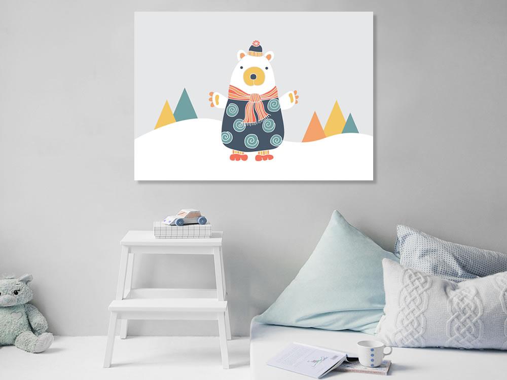Tazi Bear-Poster