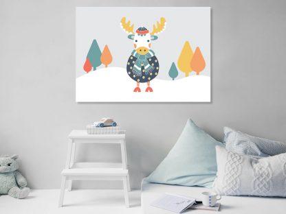 Tazi Moose-Poster