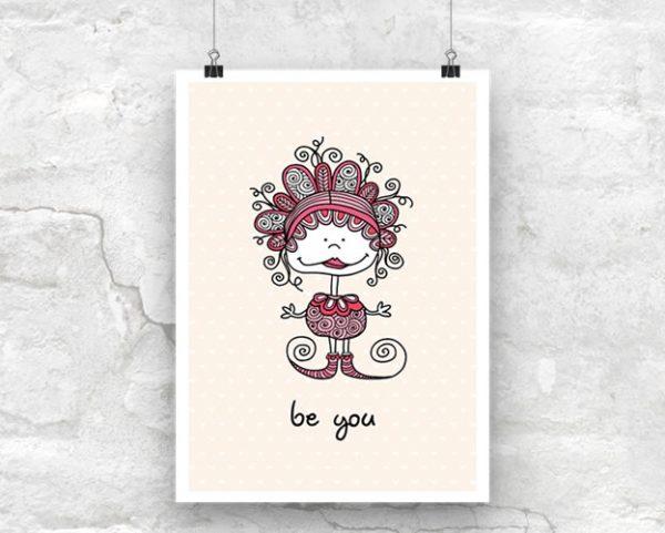 Tazi Be-You-Poster