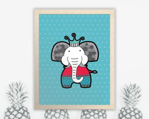 Tazi A3-Elephant-Frame