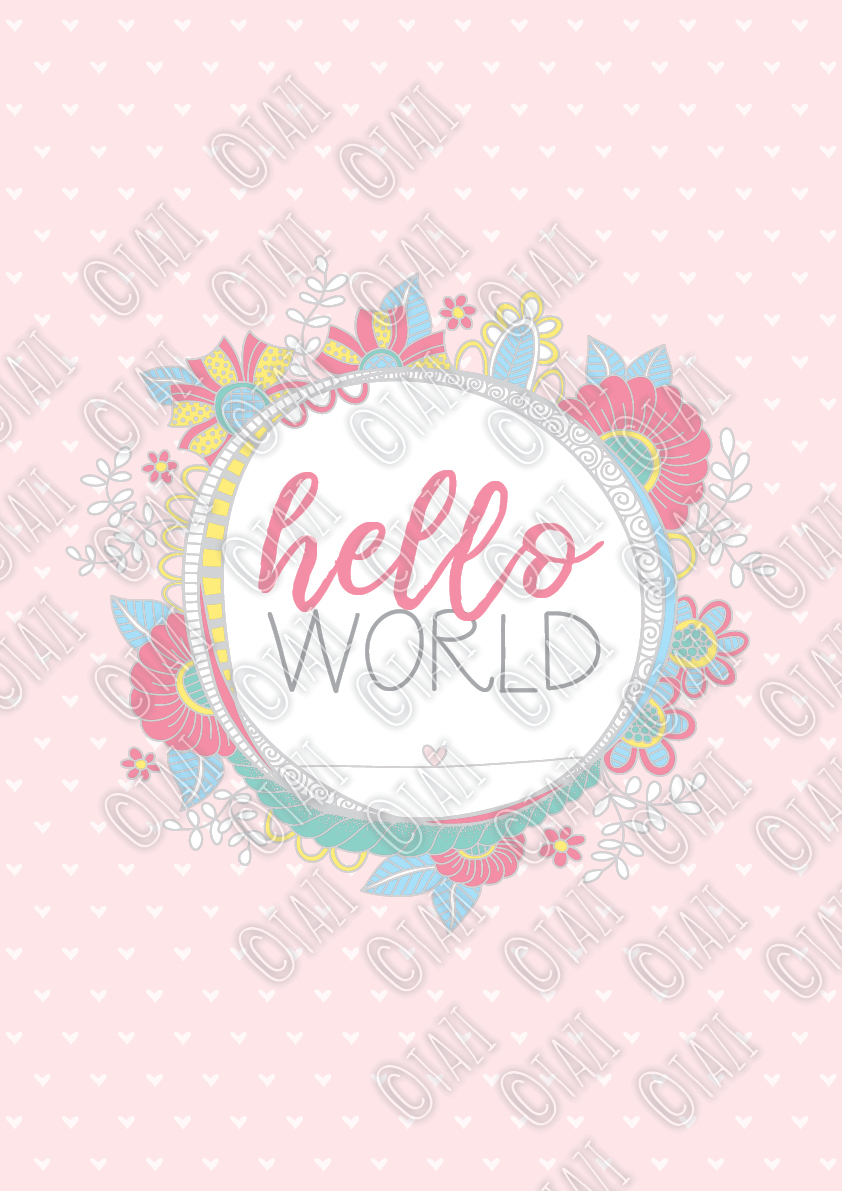 DIY-A3-hello-world-pastel
