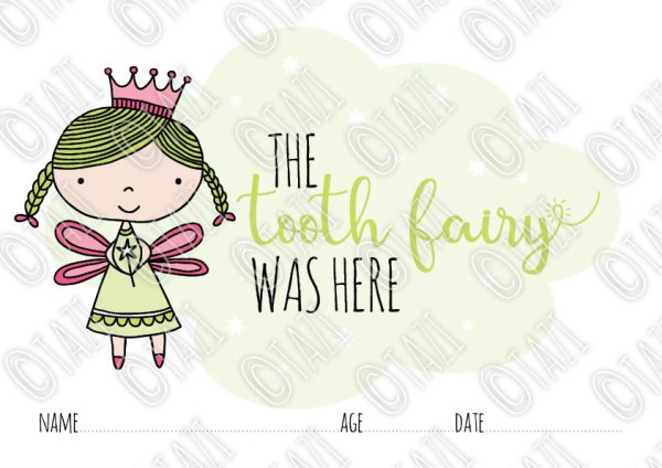 Tazi-Tooth-Fairy-Certificate