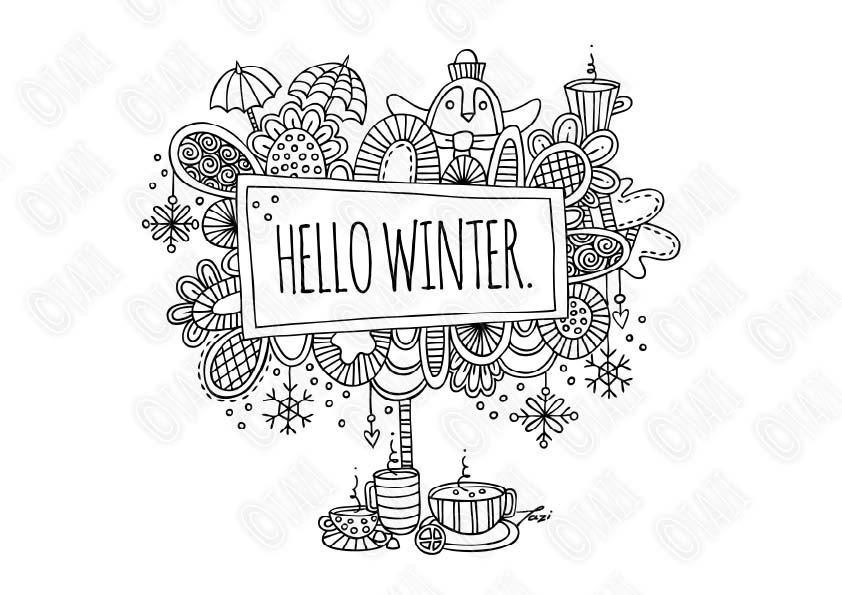 Tazi-hello-winter