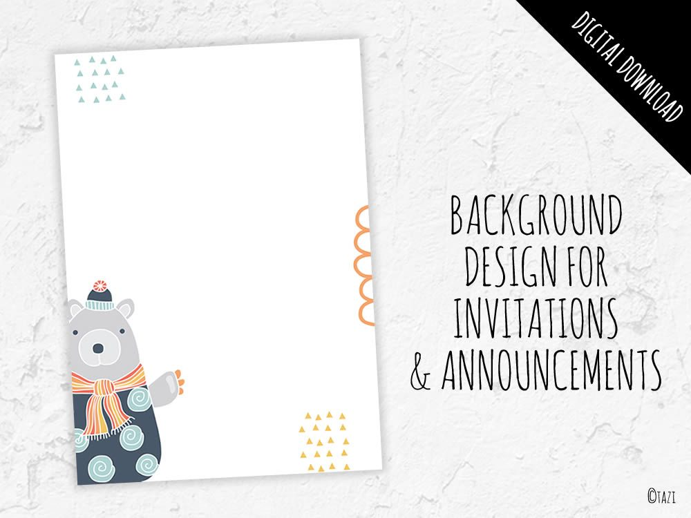 DIY A5-background-bear