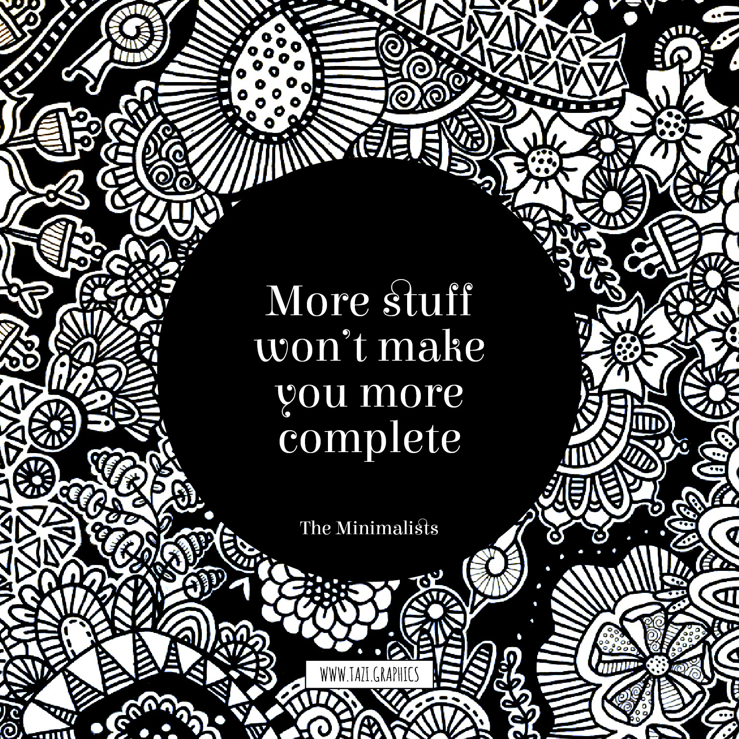 More stuff won't make you more complete