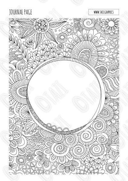 Tazi doodle-journal