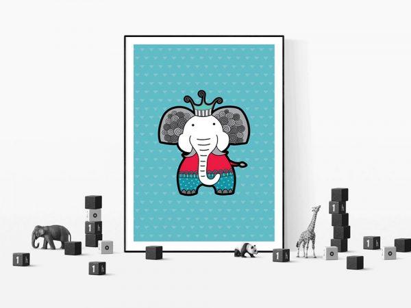 Tazi Elephant-with-toys