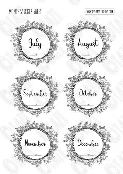 DIY Stickers-Months-Watermark-P2