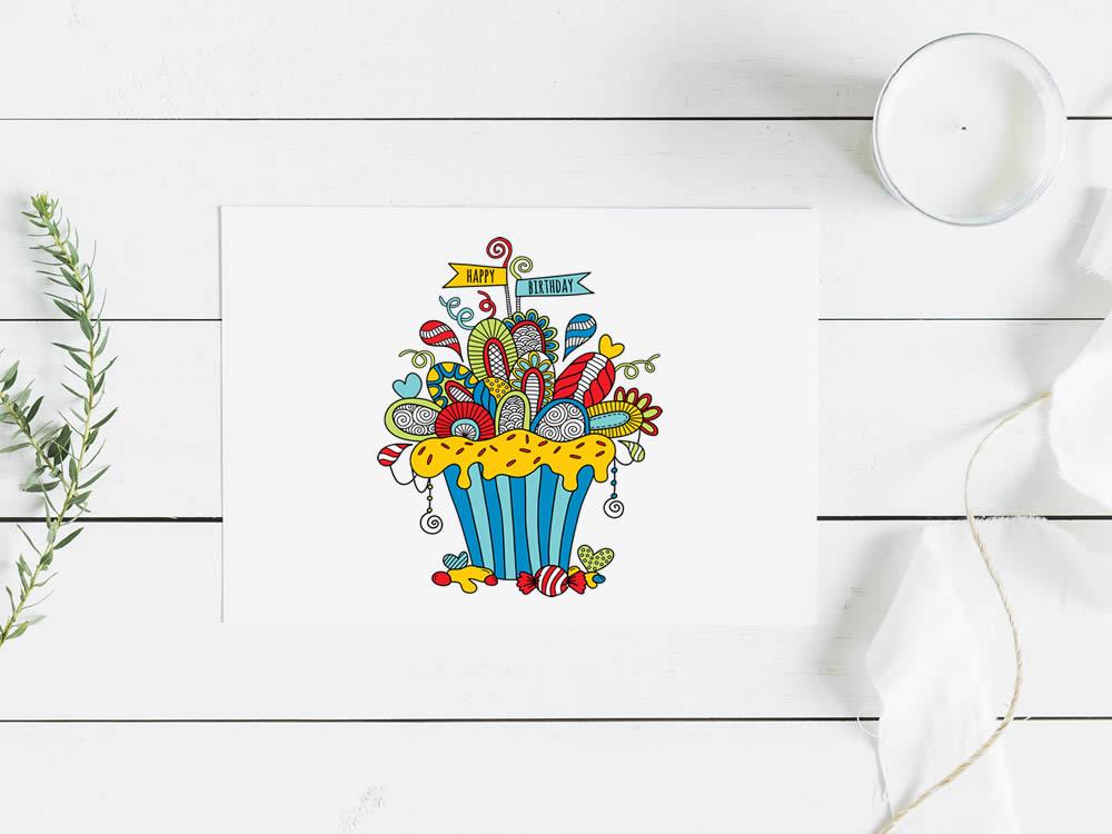 Tazi birthday-cupcake-mockup