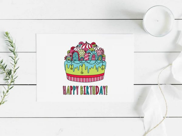 DIY birthday-cake-mockup
