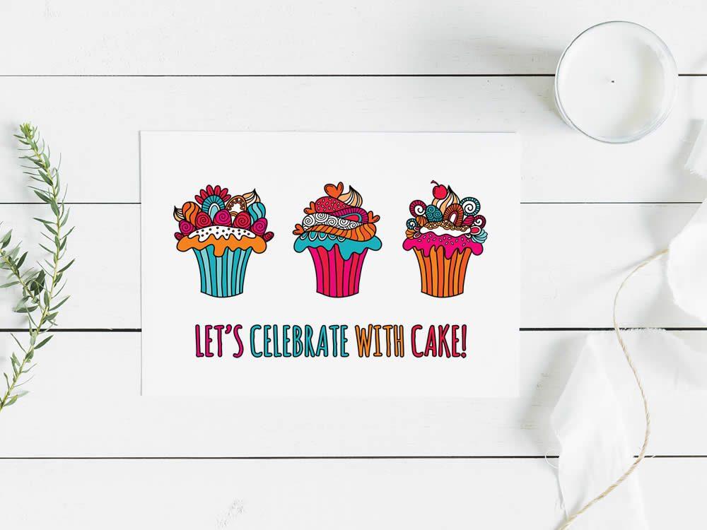 Tazi Cupcake Celebrate