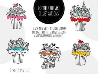 DIY doodle-cupcakes-black-hero
