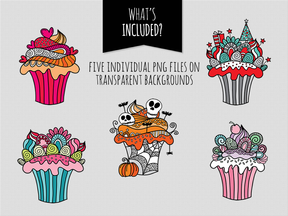 DIY doodle-cupcakes-included