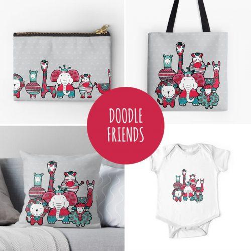 DIY doodle-friends