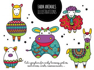 DIY farm animals