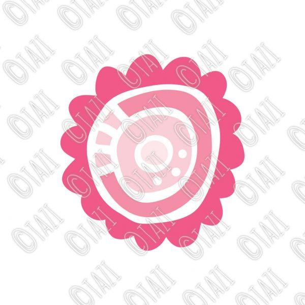 Tazi flower-pink