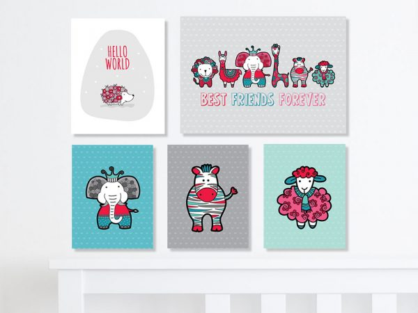 Tazi gallery-wall-infant
