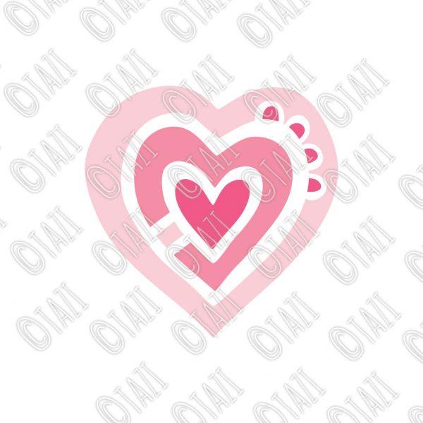 Tazi heart-pink