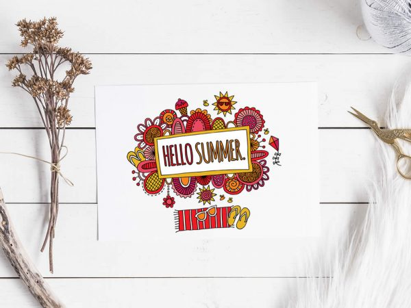 DIY Hello Summer