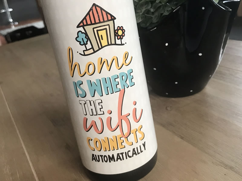 DIY housewarming wrapper