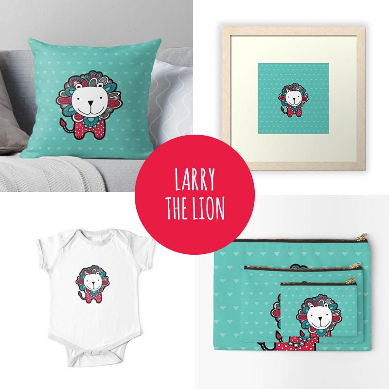 DIY-larry-lion