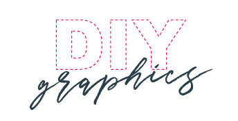 DIY logo white