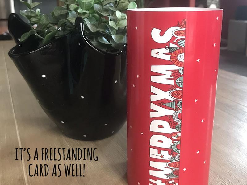 DIY merryxmas-card