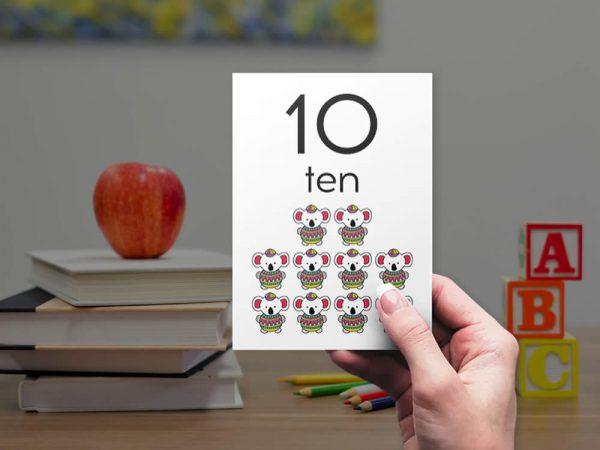 Tazi numbers-bright-ten