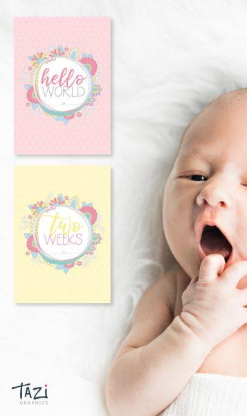 Tazi pin-baby-milestone