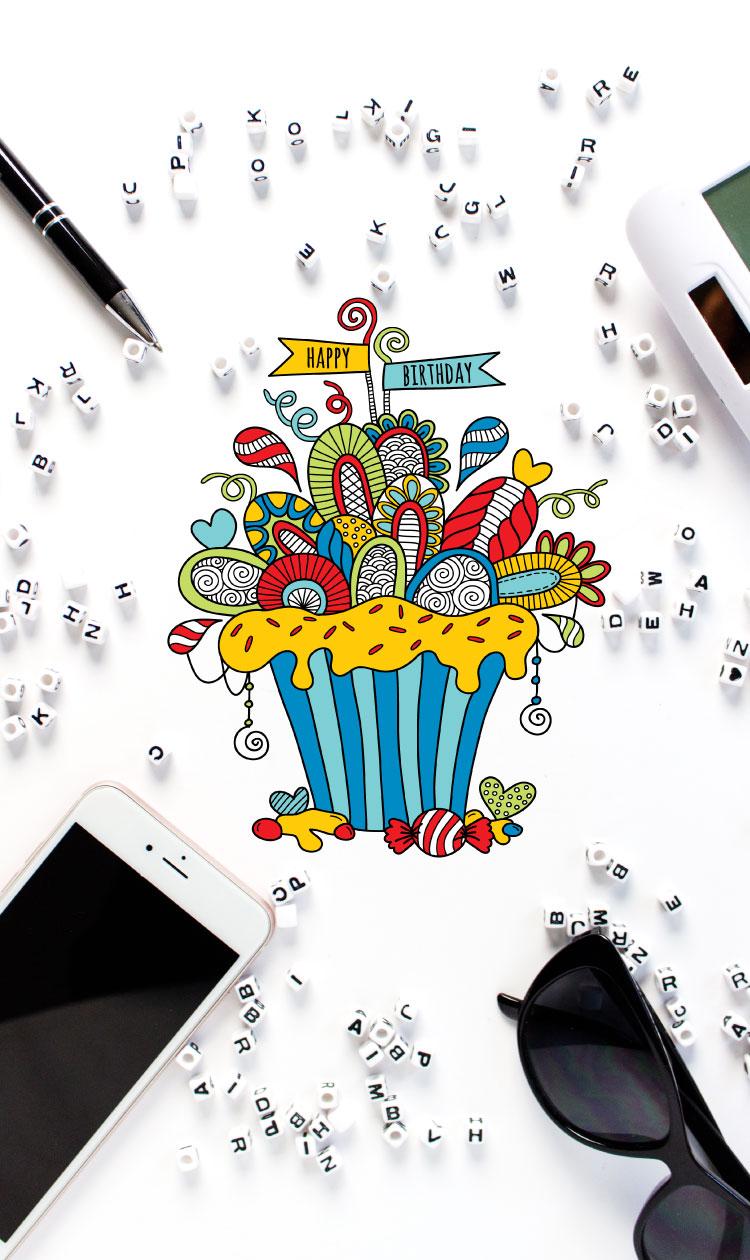 Tazi pin-birthday-cupcake-graphic