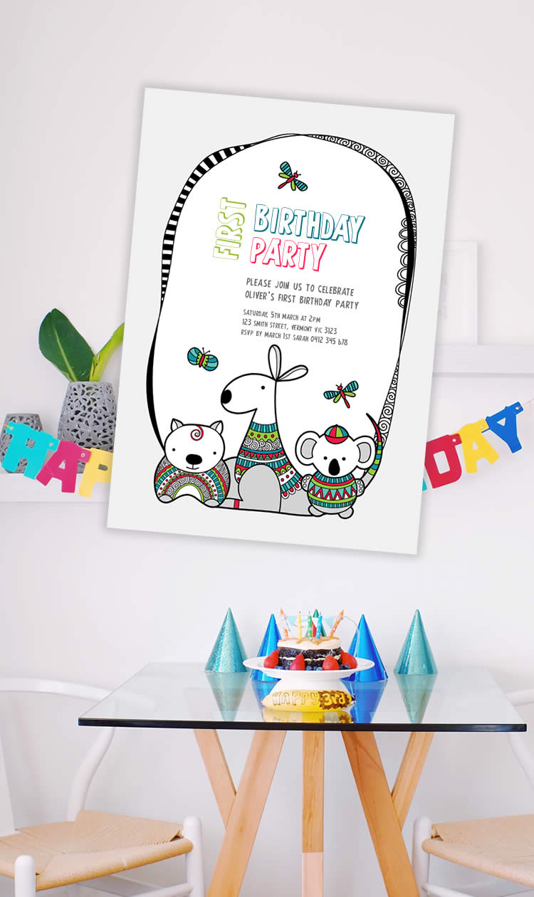 Tazi pin-birthday-invite