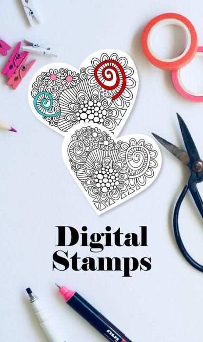 Tazi pin-digi-stamp-heart