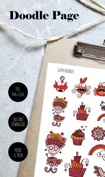 Tazi pin-doodle-page-giphys