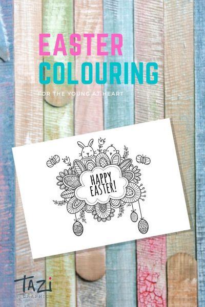 Tazi pin-easter-colouring