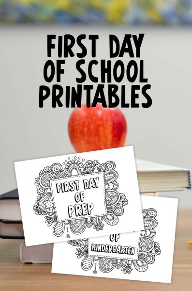 Tazi pin-first-day-school-printables