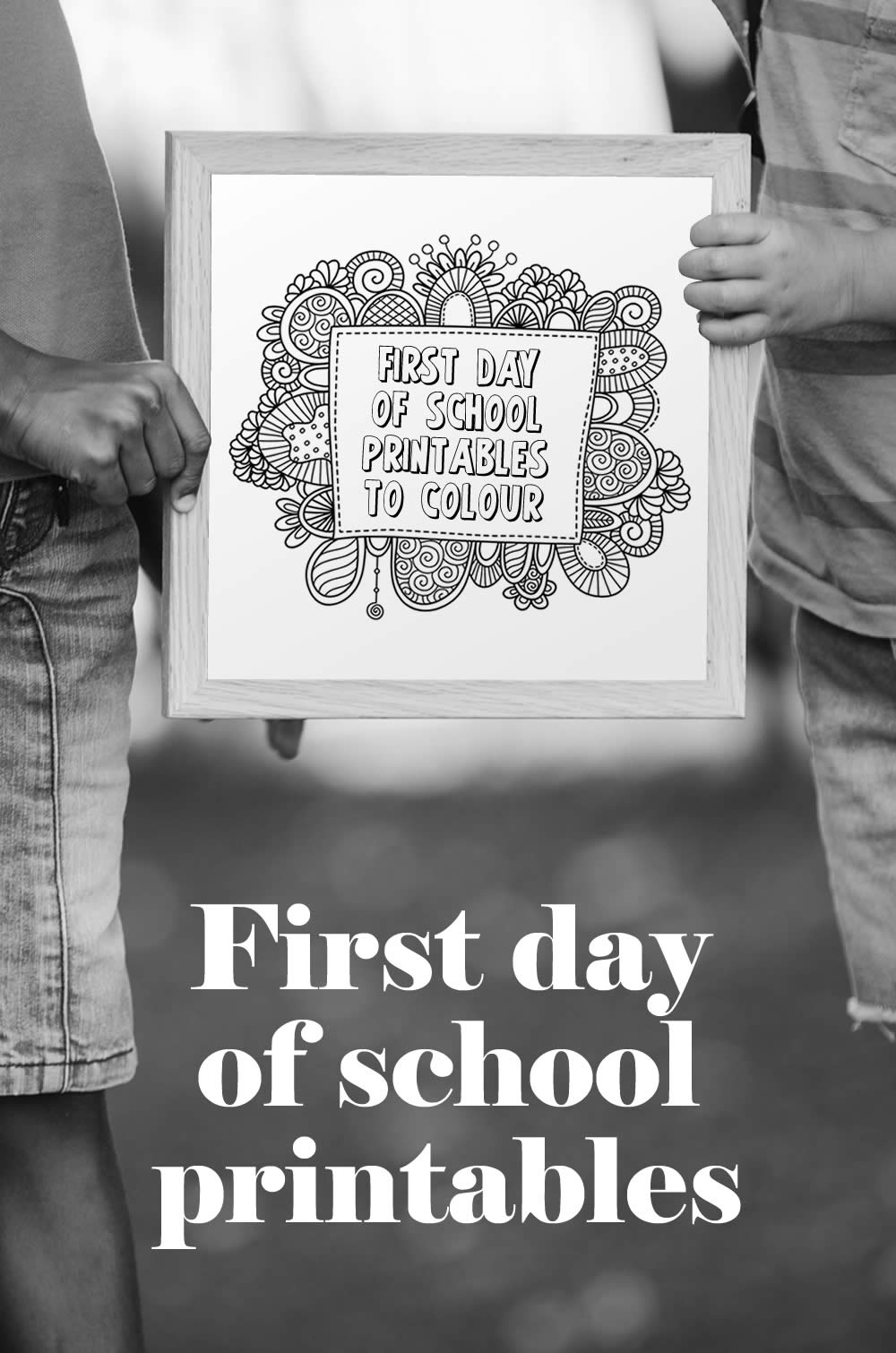 Tazi pin-first-day-school-sign
