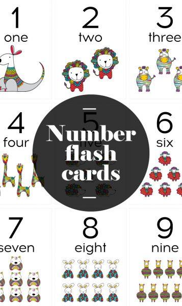 Tazi-pin-flash-cards-number