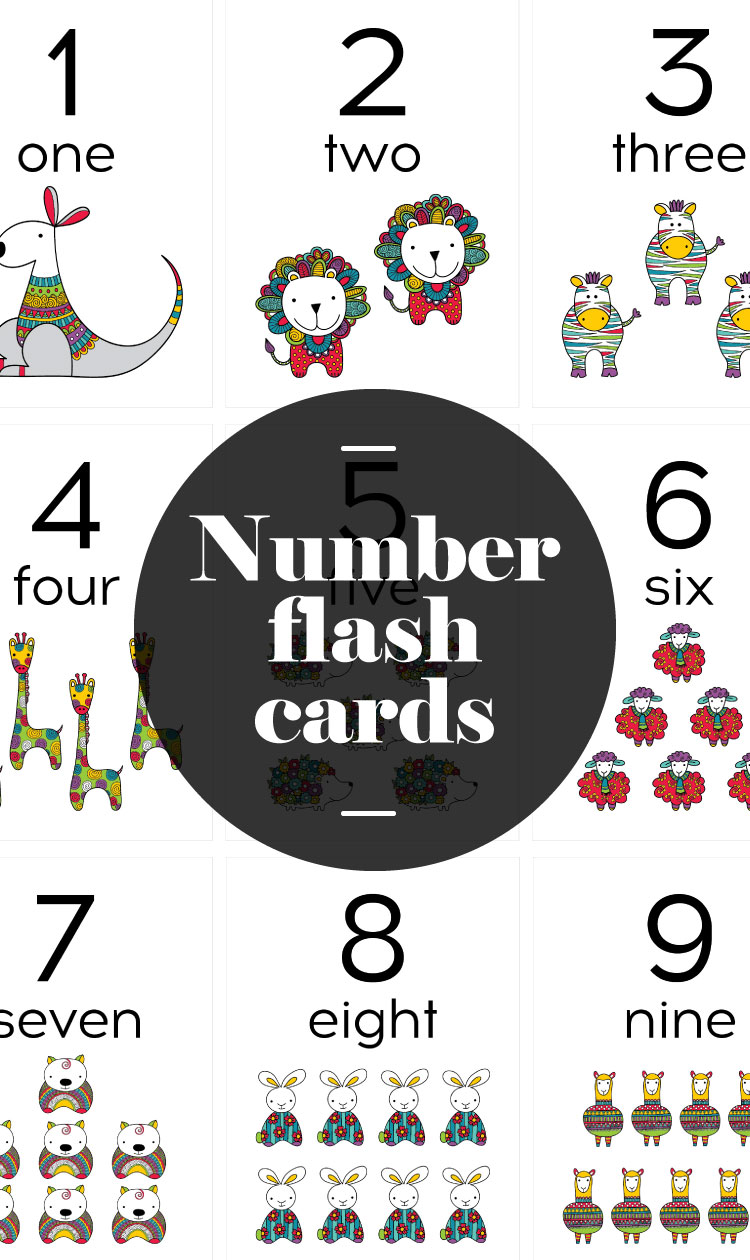 Tazi-pin-flash-cards-number