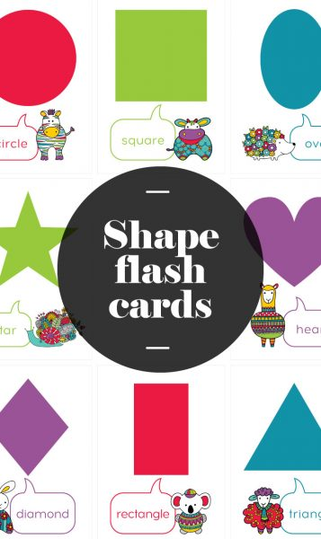 Tazi pin-flash-cards-shape