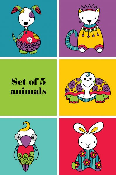 Tazi pin-pet-animals