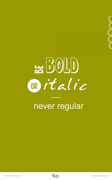 Tazi pin-typography-bold