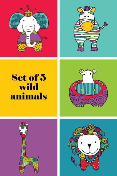 Tazi pin-wild-animals