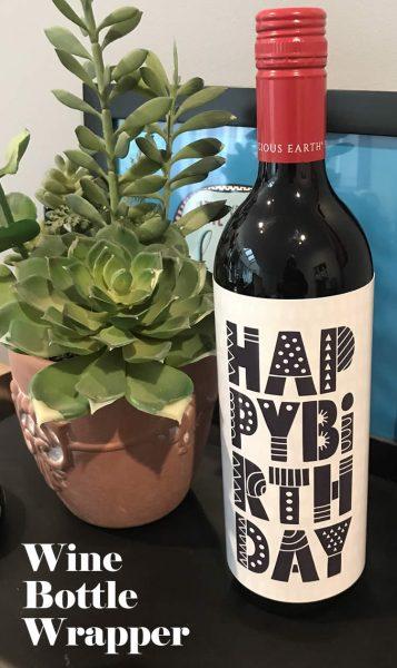 Tazi pin-wine-birthday
