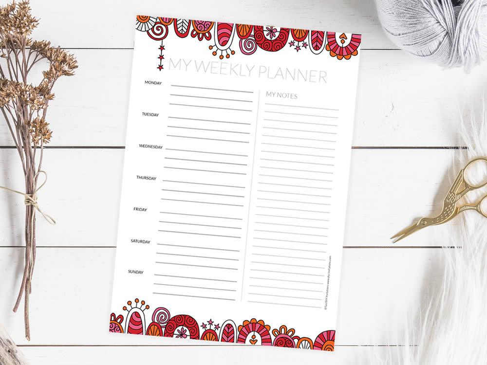 Tazi planner-weekly-mockup