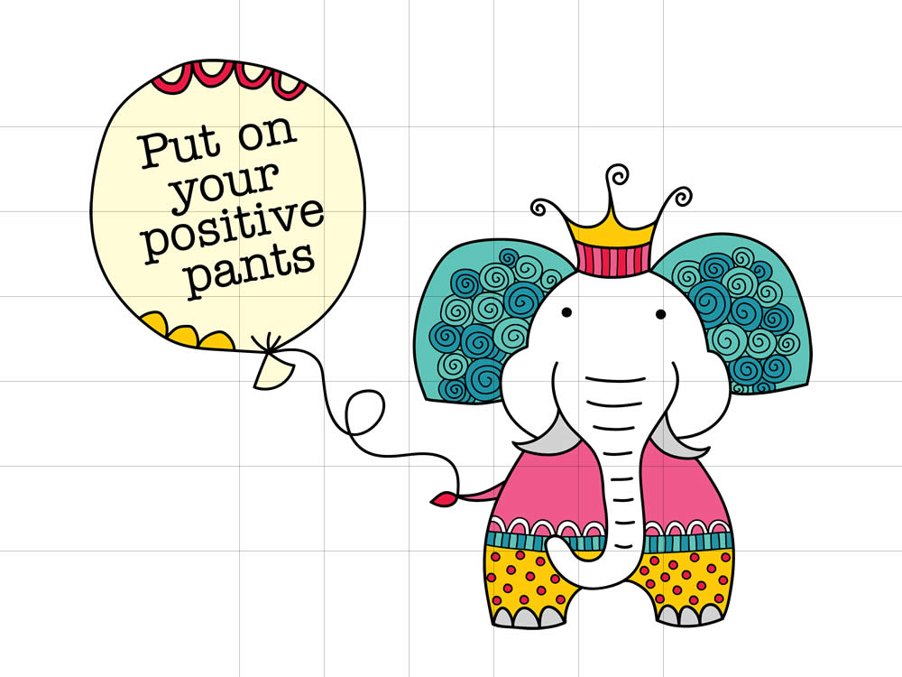 DIY positive-pants