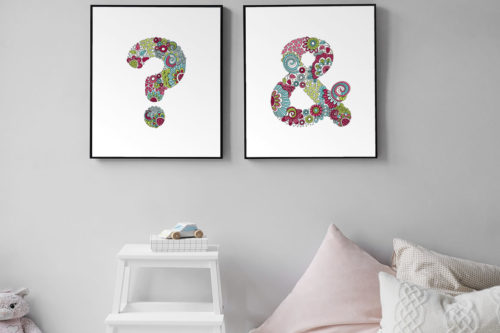 Tazi punctuation bedroom