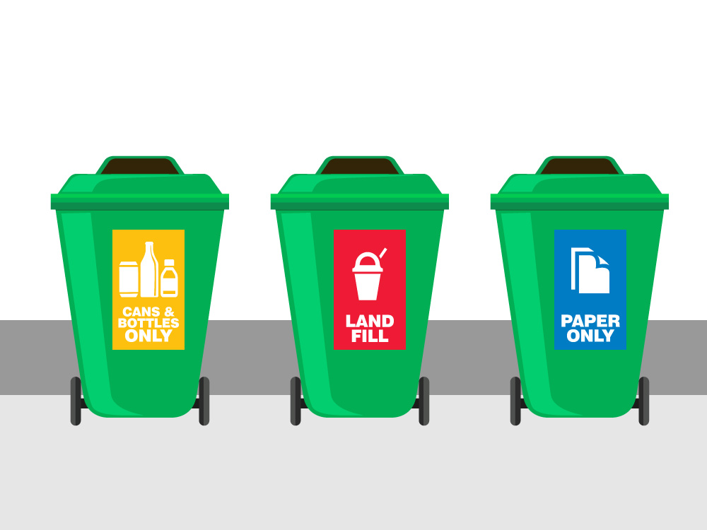 Tazi recycle-bin-labels