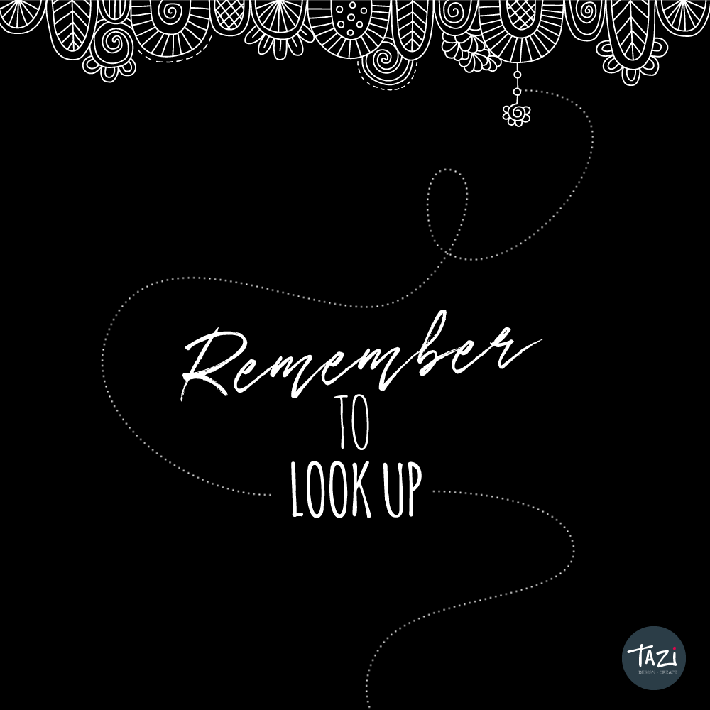 Tazi-remember-to look-up